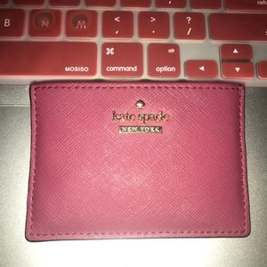 kate spade Bags - KATE SPADE CARD CASE HOLDER HAVE IN NAVY AS WELL